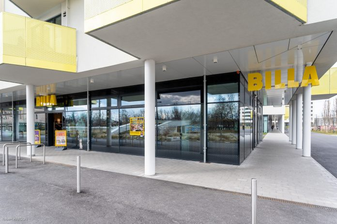 Neue BILLA Filiale in der Koloniestraße. Bild: Billa.