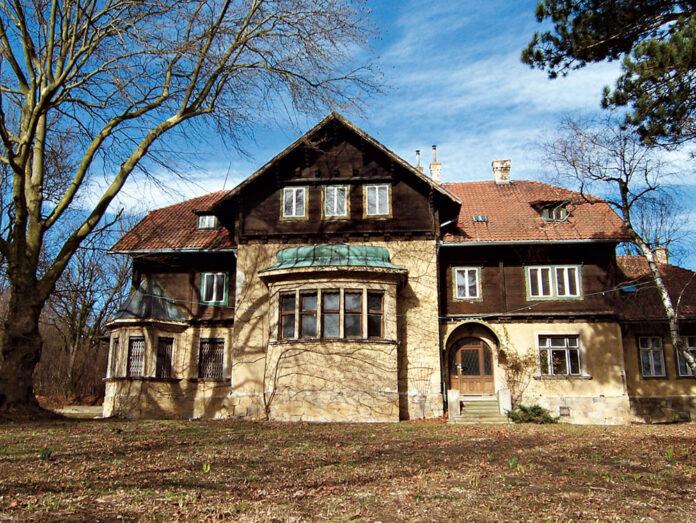 Jagdschloss Magdalenenhof. Bild: DFZ.