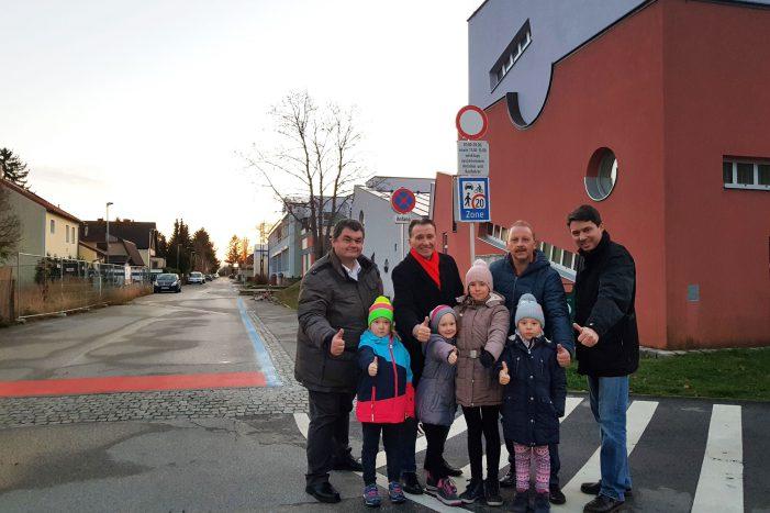 Gerasdorf: Mehr Sicherheit für Kim, Mia, Katharina und Emilia