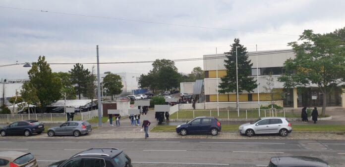 Gebäude des IZIA in der Richard-Neutra-Gasse. Bild: Privat.
