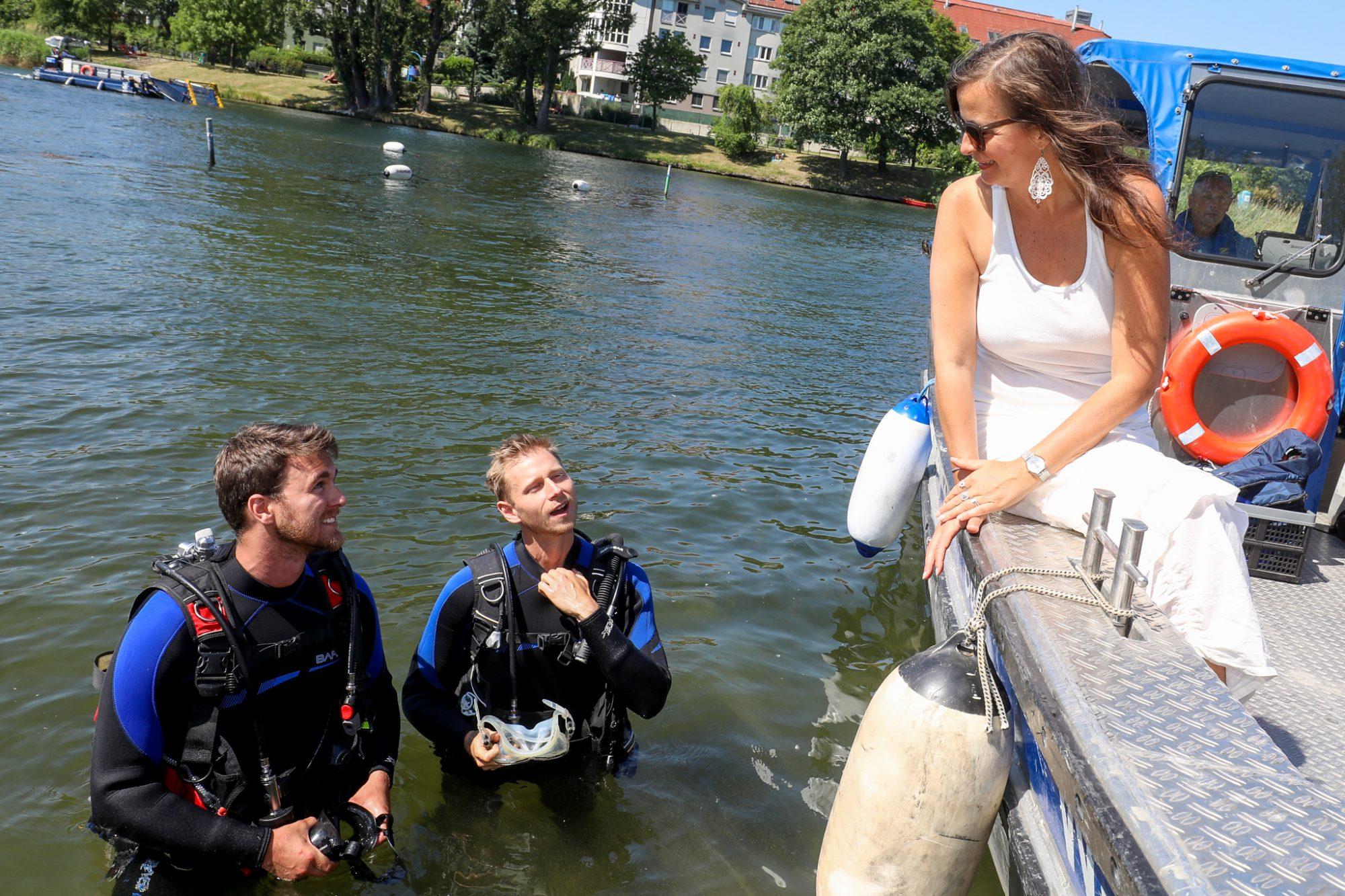 Top-Wasserqualität und hohe Zufriedenheit der Badegäste dank ausgeklügeltem Mähmanagement der Stadt Wien. Bild:PID/Christian Fürthner.