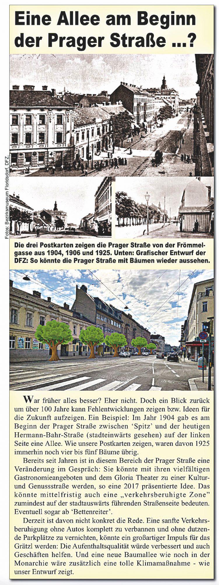 Artikel in der April-Ausgabe der DFZ. Bild: DFZ.