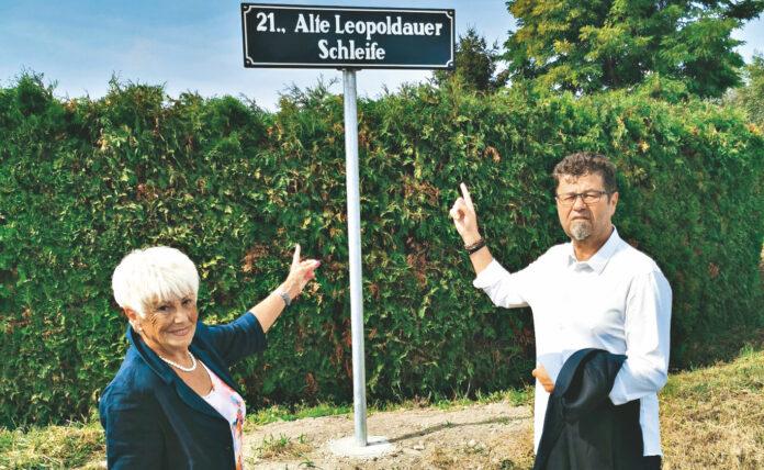 Alte Leopoldauer Schleife. Bild: Privat.