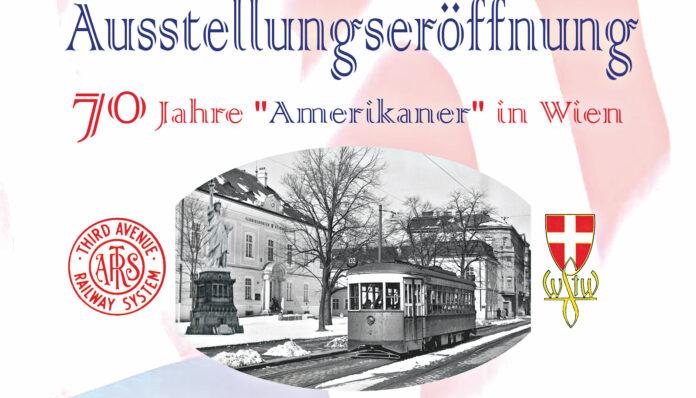 Ausstellungseröffnung Amerikaner. Bild: Bezirksmuseum.