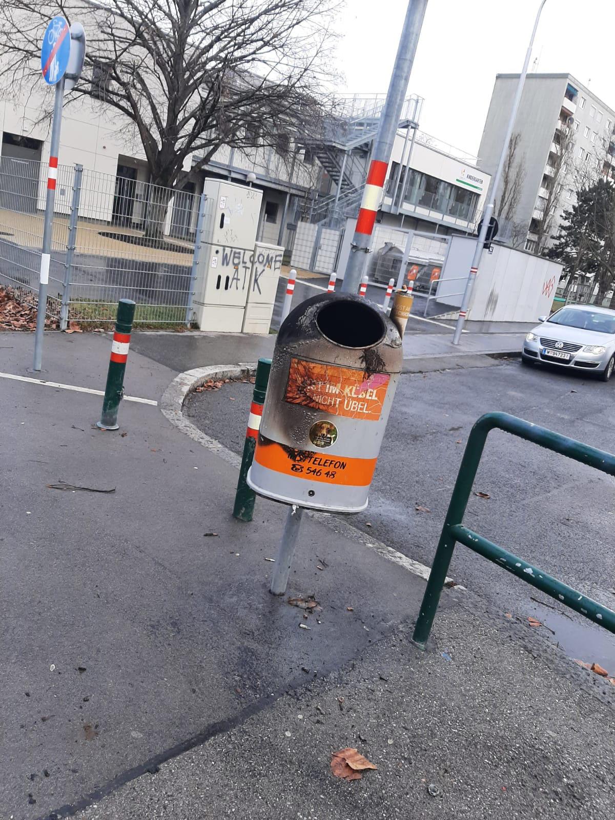 Zerstörung an der  Siedlung Autokaderstraße. Bild: WIFF.
