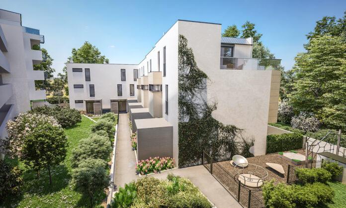 Projekt-Visualisierung Weilandgasse 5, 1210 Wien. Bild: wieninvest Group.