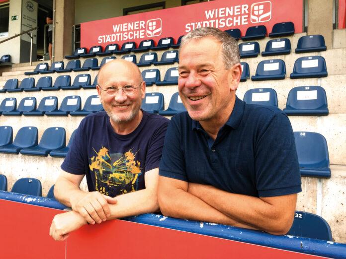 Herbert Tomasetig und Walter Brand (r.). Bild: DFZ.