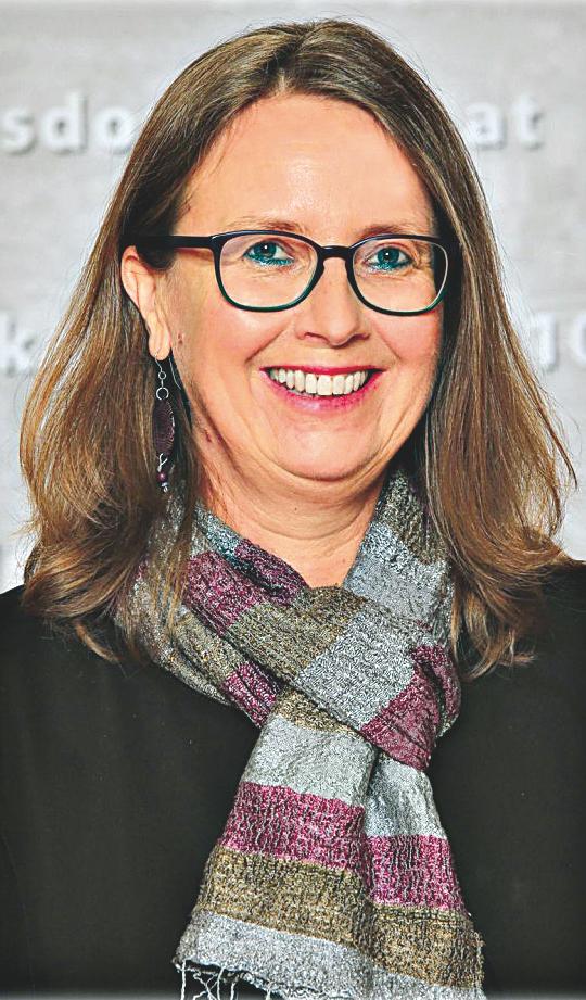 Gerda Daniel, Bezirksrätin der Floridsdorfer Grünen.