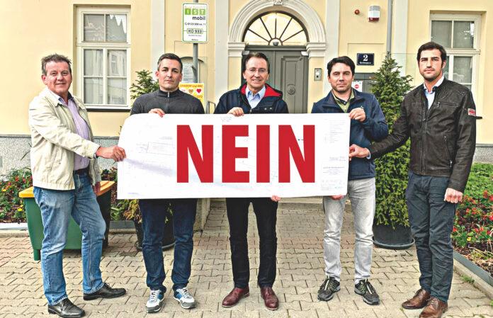Der Gerasdorfer Gemeinderat ist geschlossen gegen neue Schottergruben.. Bild: Gemeinde Gaersdorf.