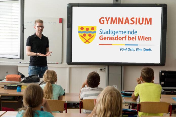 Die Stadtgemeinde Gerasdorf bei Wien setzt alle Hebel für ein Gymnasium in Bewegung. Bild: Gemeinde Gerasdorf.