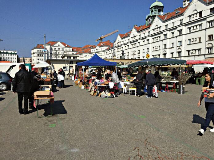 Schlingermarkt. Bild: DFZ