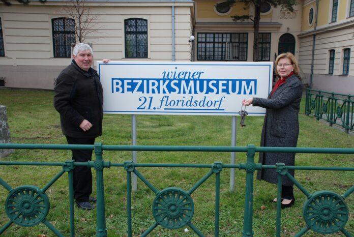 Museumsdirektor Ferdinand Lesmeister und SPÖ-Gemeinderätin Ilse Fitzbauer. Bild: Privat.