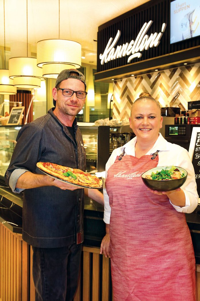 Küchenchef Peter & Betriebsleiterin Susanna. Bild: Robert Sturm - cordbase.com