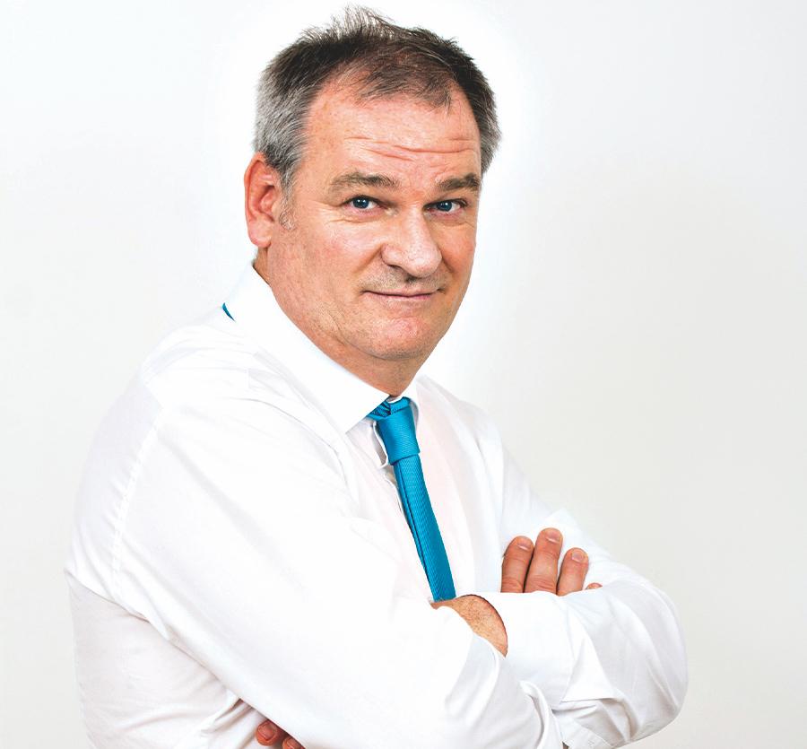 Der neue Vize-Bezirks- vorsteherder ÖVP Christian Klar.  Bild: Privat.