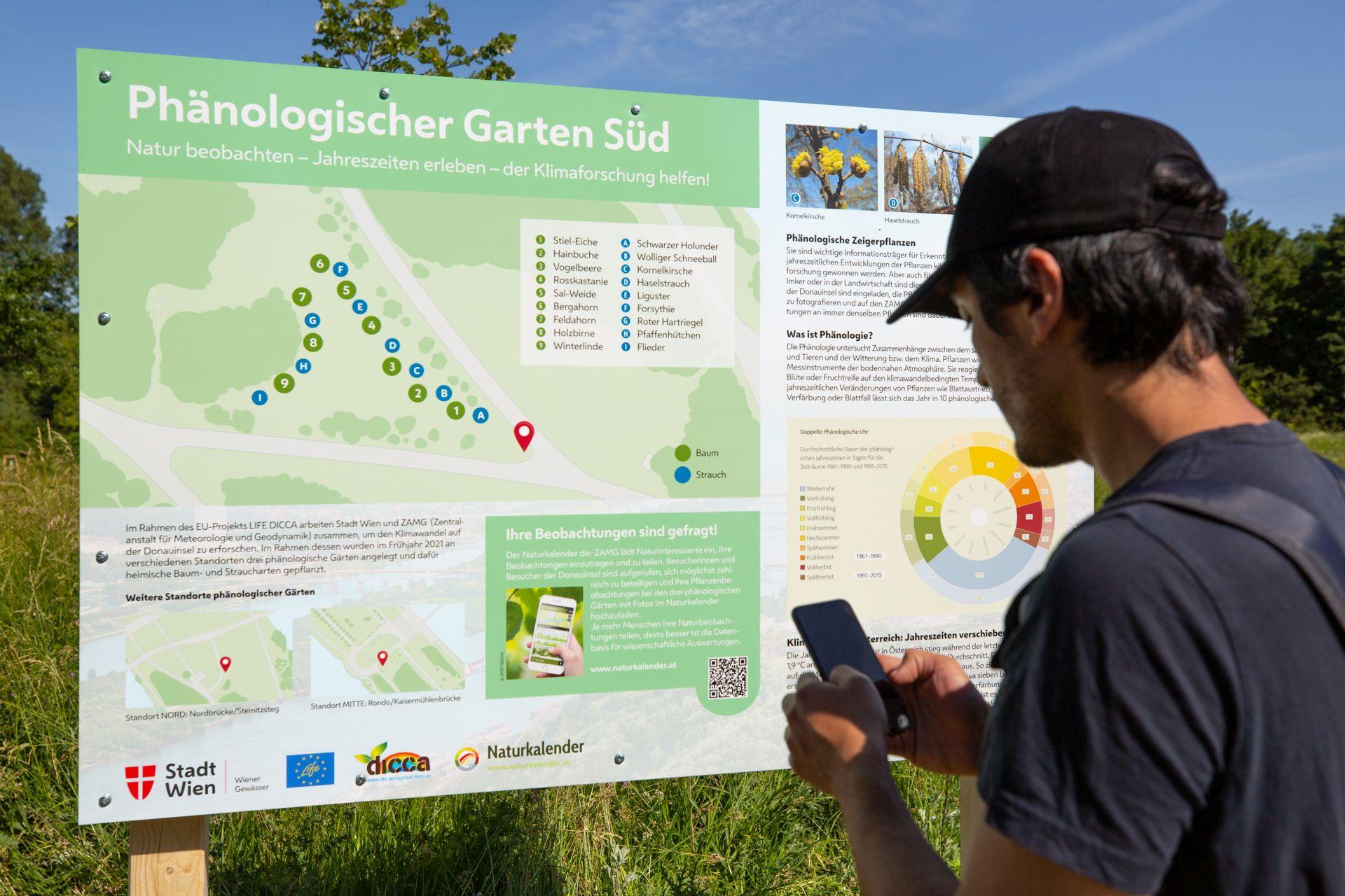 Klima-Gärten auf der Donauinsel im Kampf gegen den Klimawandel Bild: Reiterer/enjoythesoup.