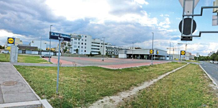 Lidl-Filiale in Leopoldau. Bild: Tupy.