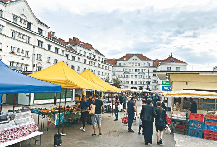 Schlingermarkt mit Anger. Bild: DFZ.