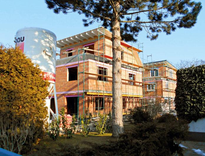 Symbolbild Bauprojekt in der Nordrandsiedlung. Bild. Privat.