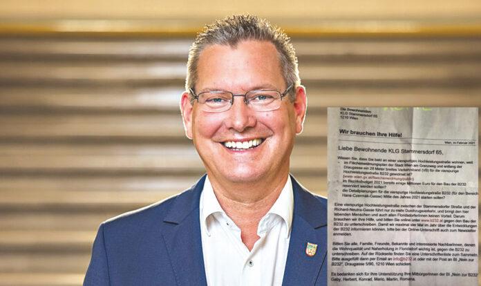 Bezirksvorsteher Georg Papai. Bild: Alexander Müller.