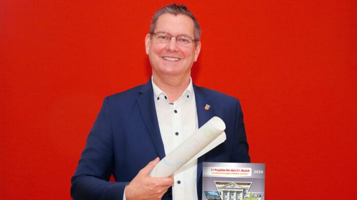 Bezirksvorsteher Georg Papai (SPÖ. Bild: Robert Sturm - cordbase.com