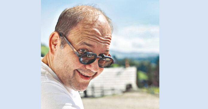 ImSommer erholte sich Gerald Pichowetz in der Steiermark. Bild: Privat.