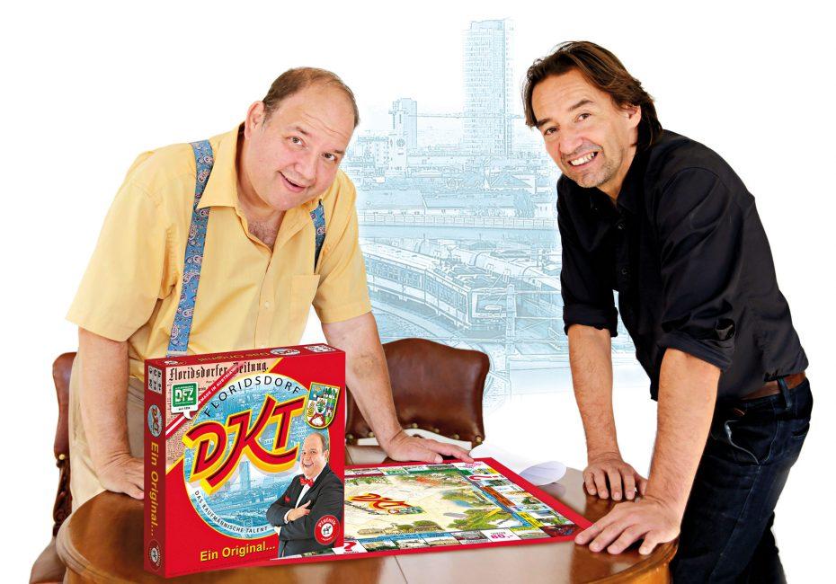 Gerald Pichowetz mit DFZ-Herausgeber Hannes Neumayer. Bild: Robert Sturm - cordbase.com
