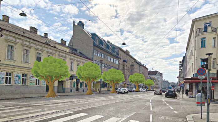 Enwturf: Alle auf der Prager Straße. Bild: DFZ.