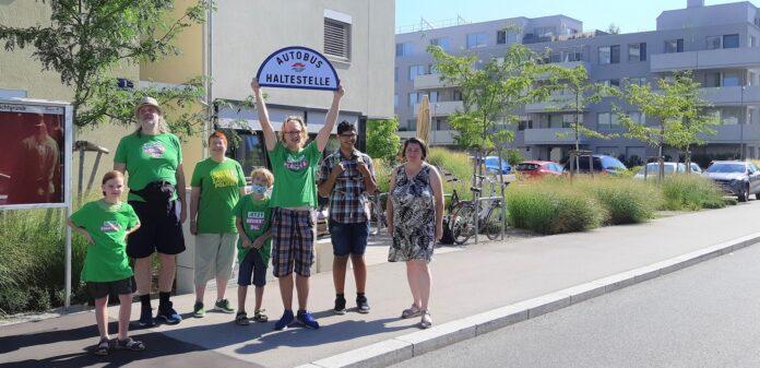 Die Schichtgründe warten schon seit mindestens drei Jahren auf eine Buslinie. Bild: Grüne Floridsdorf.