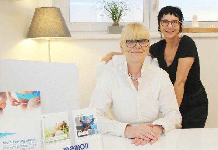 Alexandra Smetana und Manuela Schwandl kümmern sich um die Schönheit der Frau. Bild: Gemeine Gerasdorf.