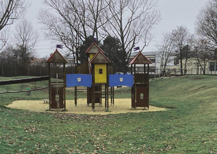 In der Anlage an der Tetmajergasse beim Verkehrsübungsplatz für Kinder soll ein neuer Abenteuerspielplatz entstehen.. Bild: DFZ.