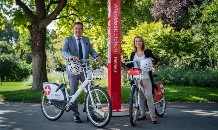 3.000 WienMobil Räder in ganz Wien ab 2022 Copyright: Tobias Holzer.