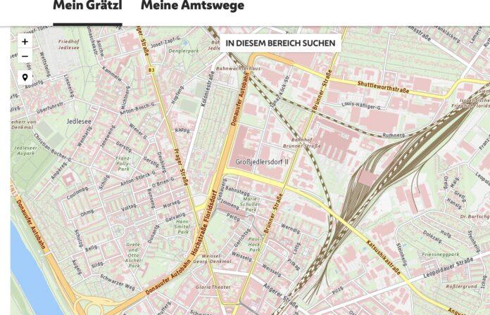 Symbolbild Amtswege. Bild: wien.gv.at