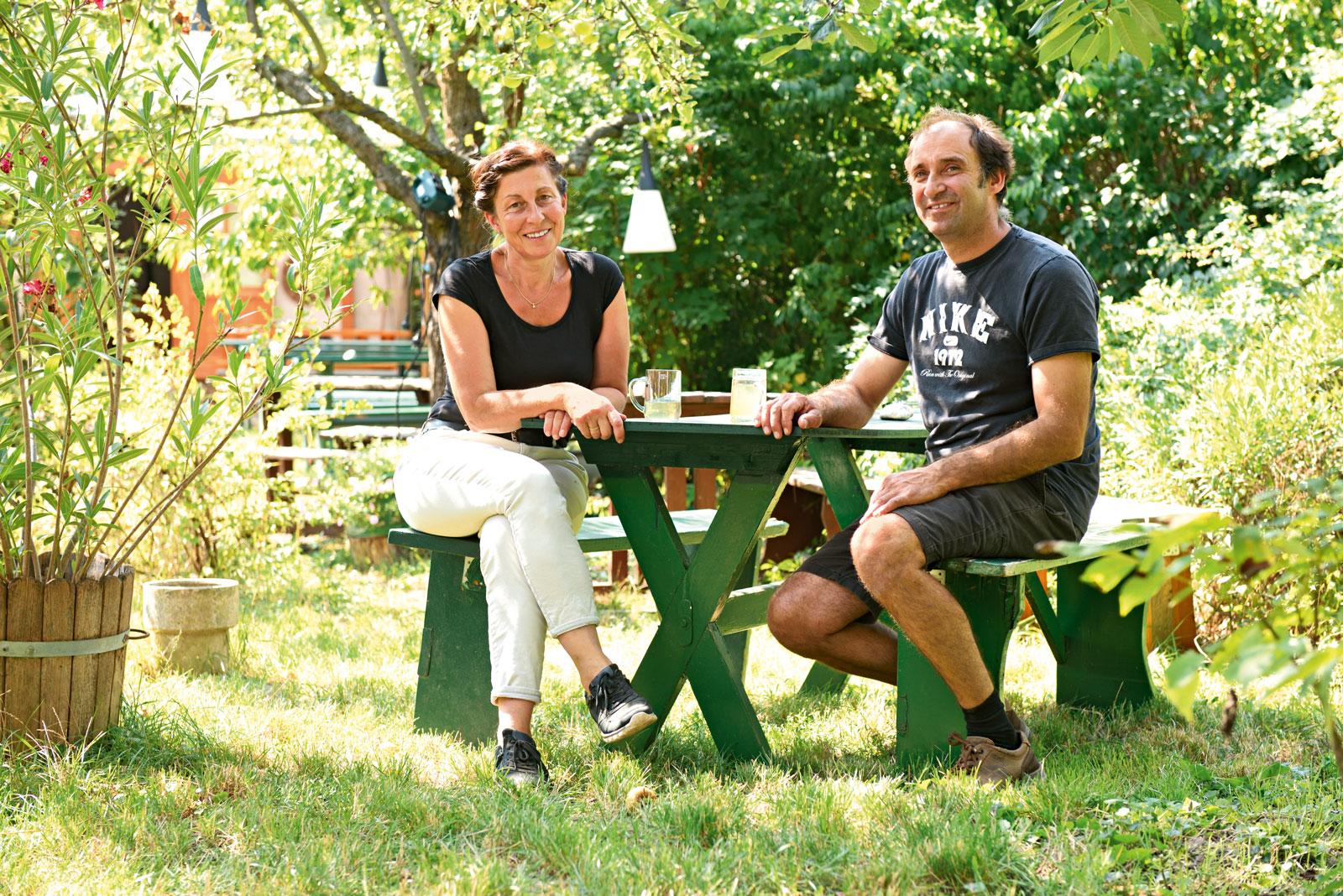 Ambros Steindl & Maria Hofbauer-Steindl. Fotos: Clemens Fabry | Pichler Verlag.