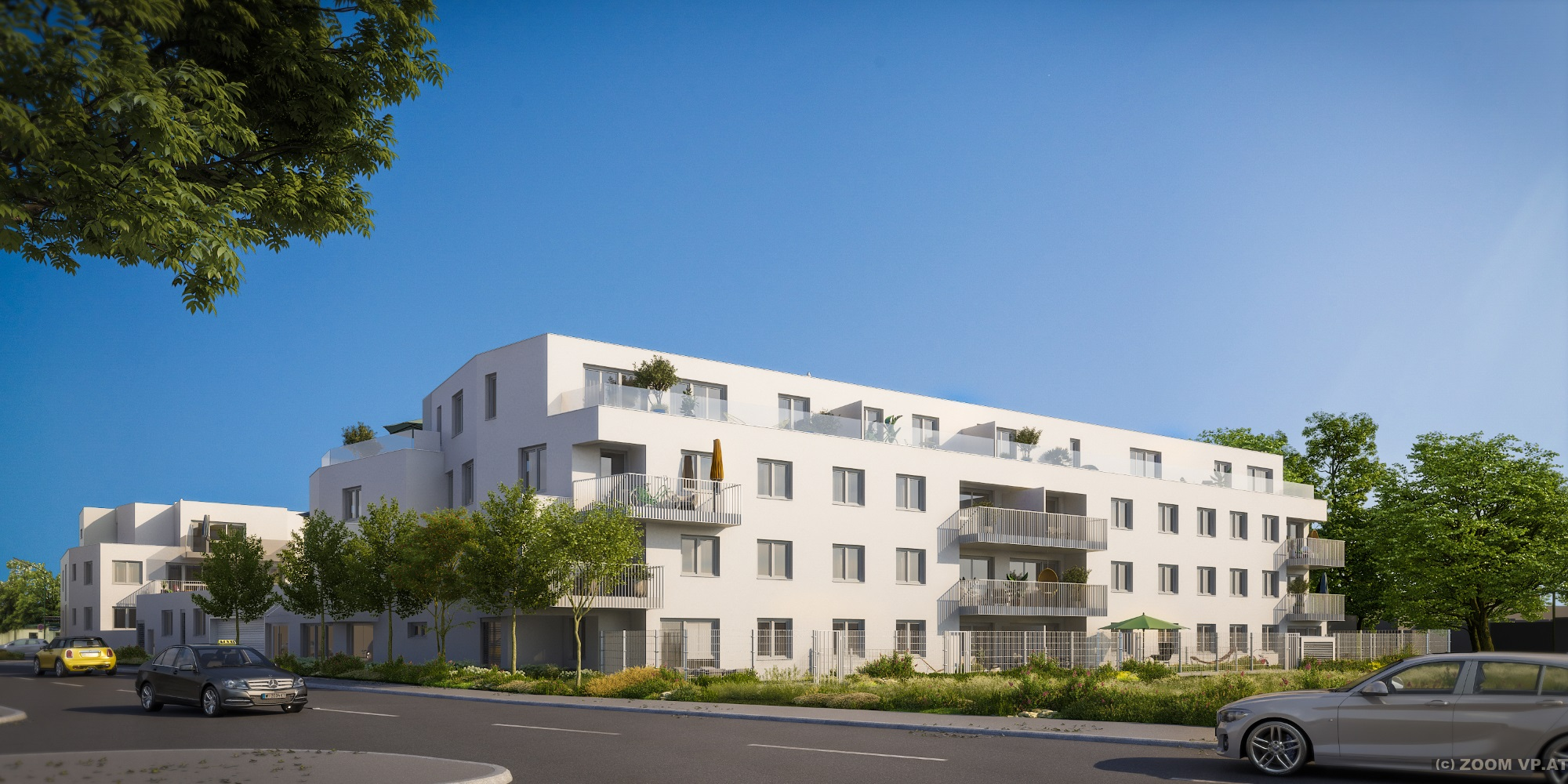 ARWAG: Wohnhaus Baumergarten. Entwurf:  ZOOMVP.