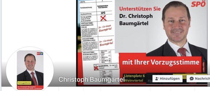 Christoph Baumgärtel. Bild: Facebook/Privat.