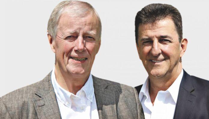 WIFF-Bezirksräte Hans Jörg Schimanek und Ossi Turtenwald. Bild: WIFF.