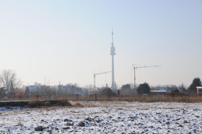 Donaufeld, östlicher Teil. Bild: DFZ.