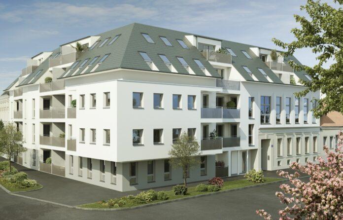 """""""Wohnen in Floridsdorf"""" . Bild: IFA AG."""