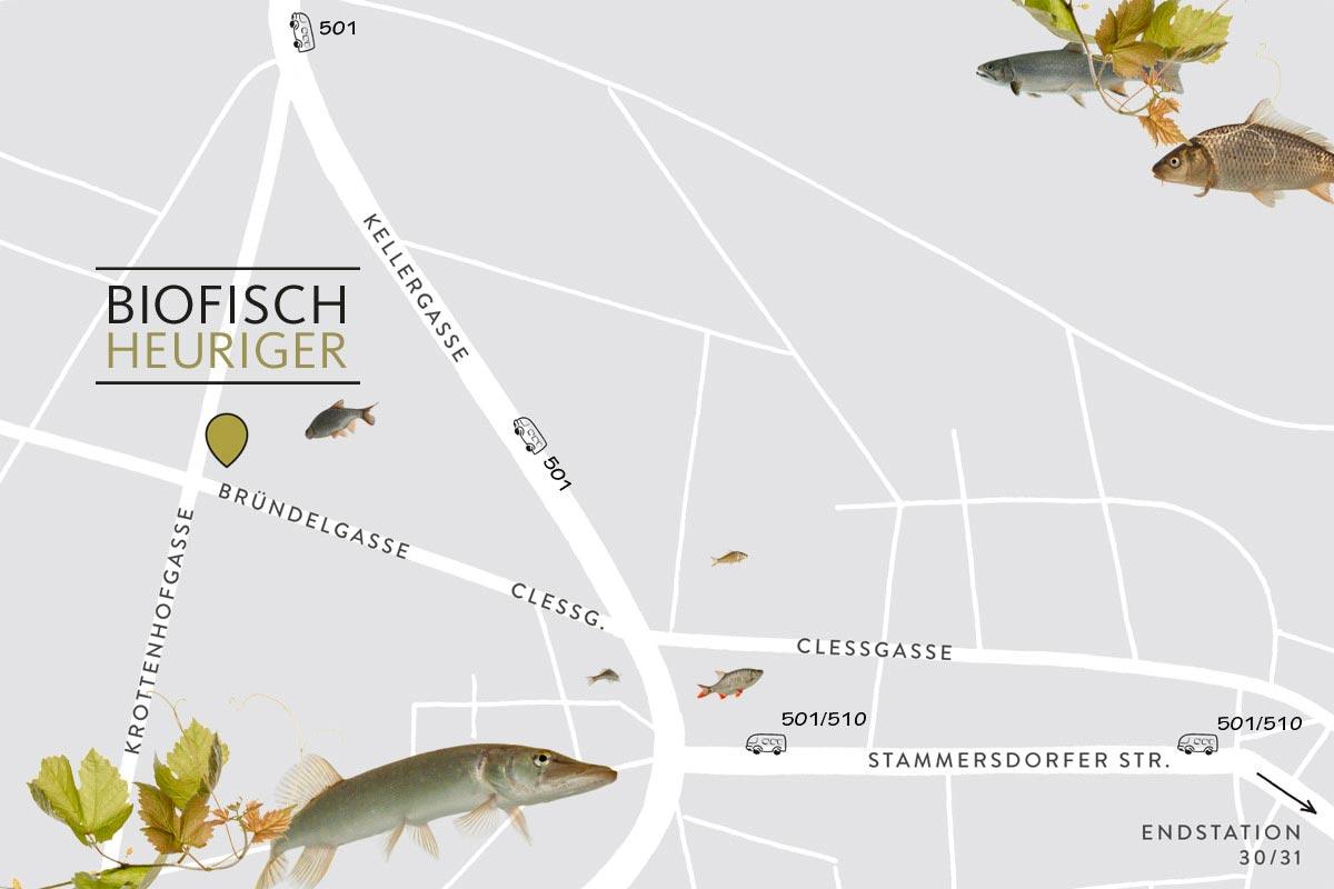 Biofisch-Heuriger-Stammersdorf: Bild: Privat.