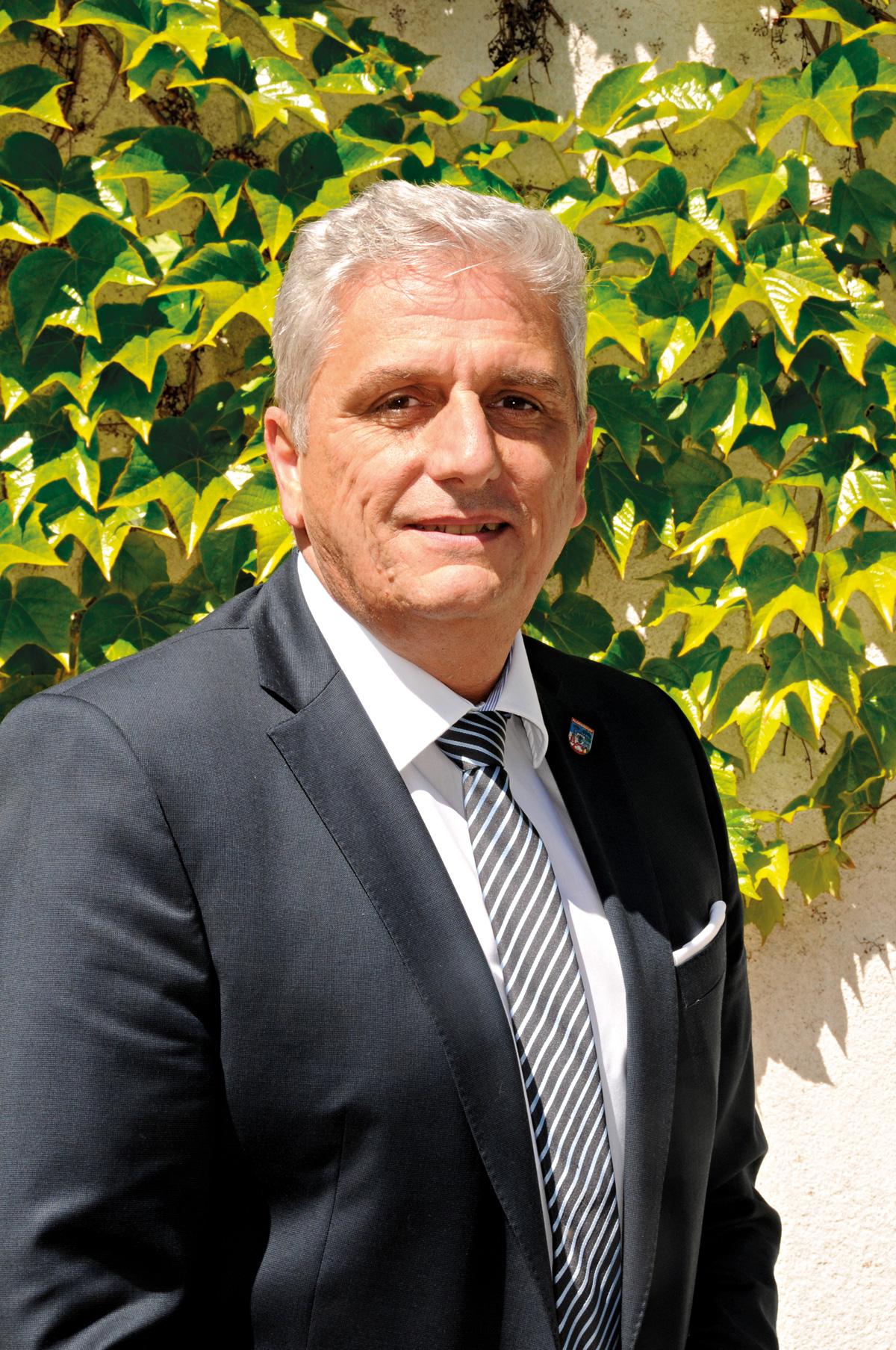 Karl Mareda, Vize-Bezirksvorsteher der FPÖ. Bild: DFZ.