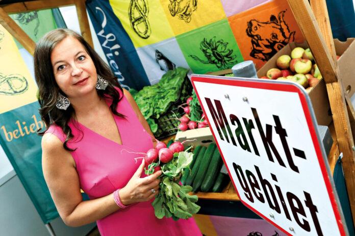 Die zuständige Stadträtin Ulli Sima präsentierte die neue Marktordnung. Foto: © PID/Fürthner.