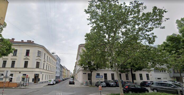 Mengergasse Ecke Schenkendorfgasse. Bild: Google Maps.