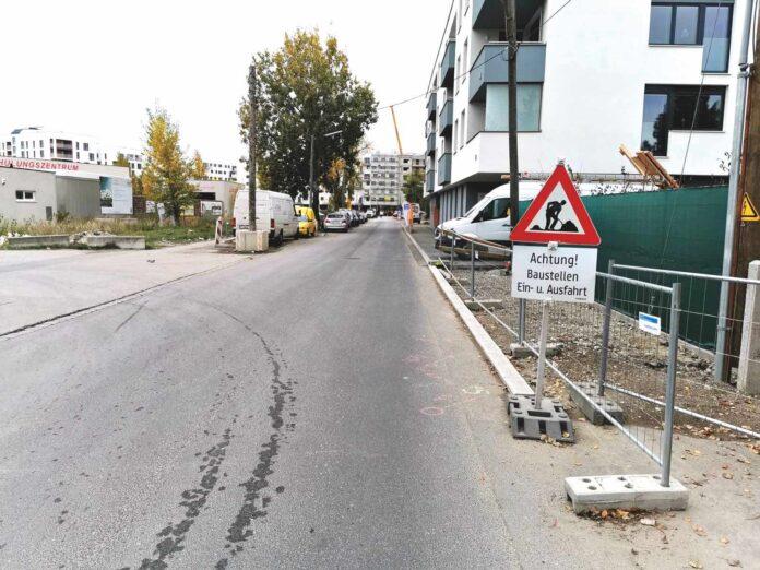 Ödenburger Straße. Bild: Privat.