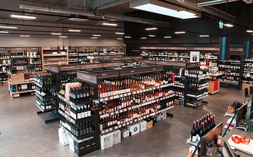 Die neuen Filiale. Bild: Wein & Co.