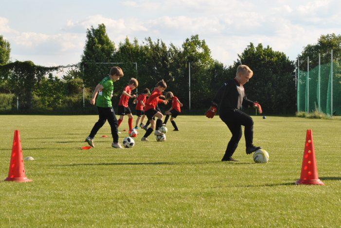 Gerasdorf: Nachwuchs-Training unter verschärften Bedingungen