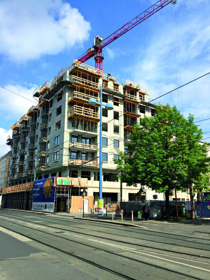 Ex-Woolworth auf der Schlosshofer Straße. Bild: DFZ.