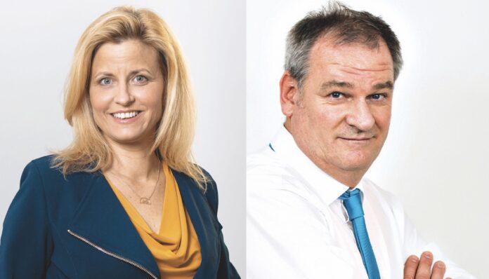 Astrid Pany (links) und Christian Klar. Fotos: Privat.